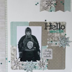Hello Winter Layout