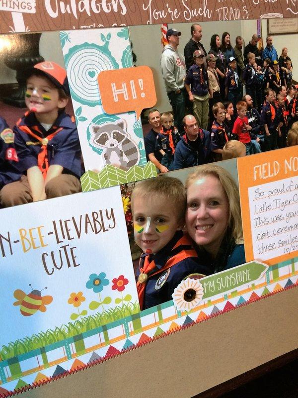Cub Scout Bobcat Ceremony detail