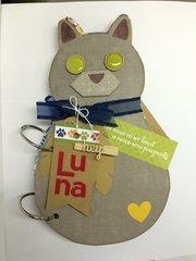 Hey Luna Cat Mini Album Front Cover
