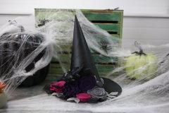 *Jillibean Soup* Felt Flower Witches Hat