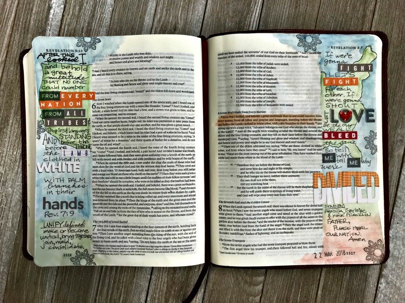 Unify Bible Journaling Project