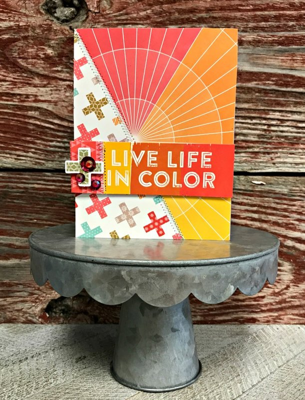 Live Life in Color Card