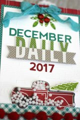 *Jillibean Soup* December Daily Album Cover Detail