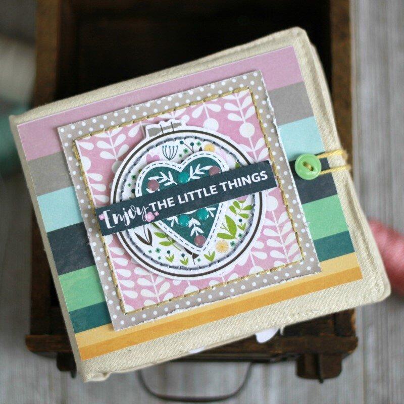 *Jillibean Soup* The Little Things Mini Album- Front Cover