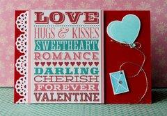 Love Delivered Card