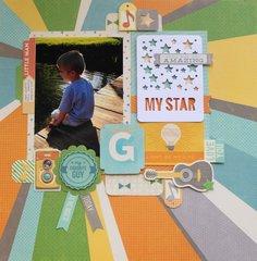 My Star Gabriel Layout