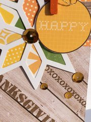 Rustic Thanksgiving Card detail