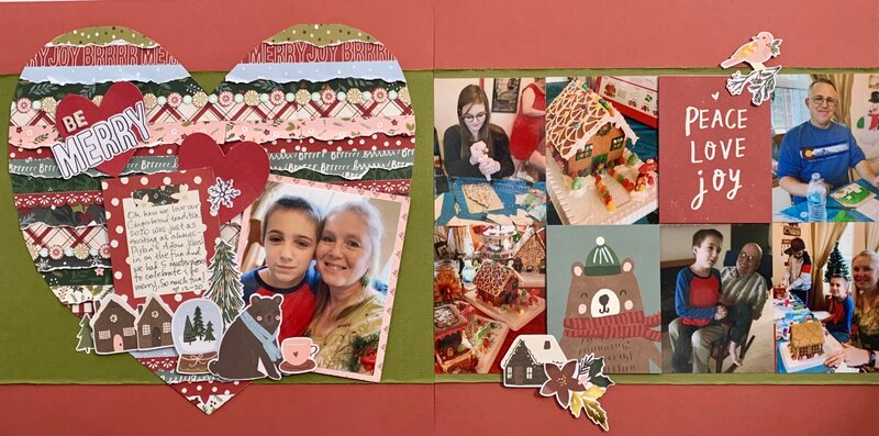 Be Merry Christmas Double Layout