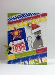 Santa's Little Helper Card