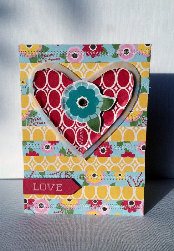 Sew in Love Card