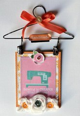 Sewing for Therapy Mini Hanger