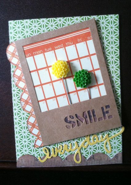 Smile Everyday Card