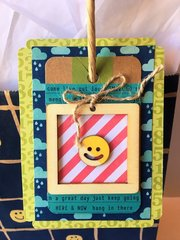 Smiley Face Gift Tag