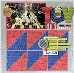 Toy Store Attack Layout