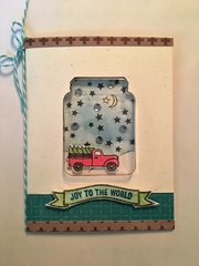 Joy to the World Jar card