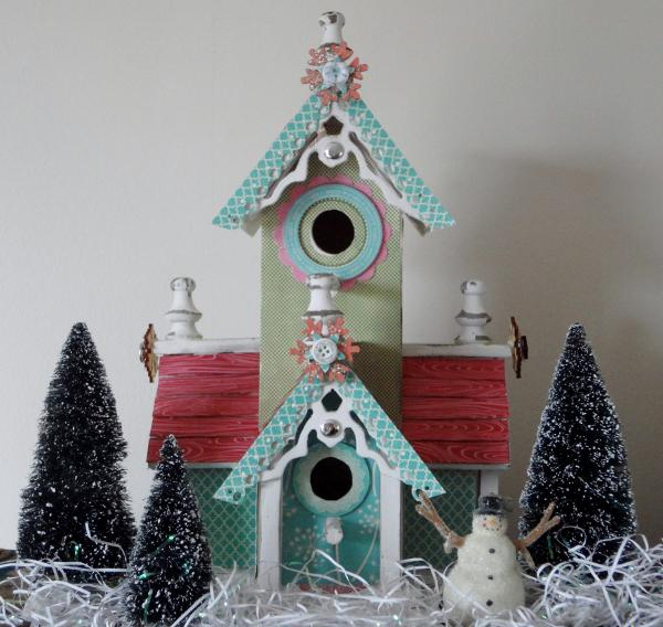 Winter Wonderland Birdhouse