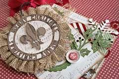 *Teresa Collins Christmas Cottage mini tag book