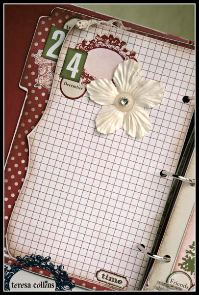 *Teresa Collins* Christmas Countdown Memory Album Kit