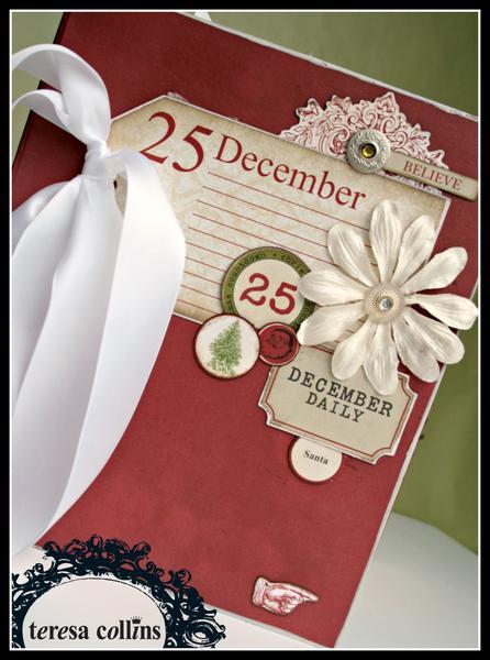 *Teresa Collins* Christmas Countdown Memory Album Kit