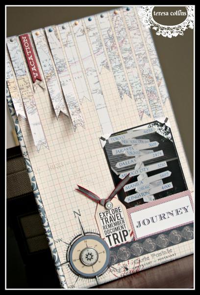 Travel mini book *Teresa Collins Far & Away