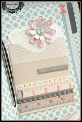 *Teresa Collins - He Said, She Said mini file folder album