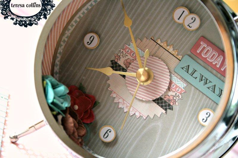 *Teresa Collins* Summer stories clock project