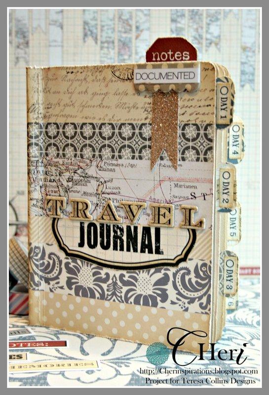 *Teresa Collins Far & Away mini journal book