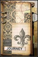 Mini Travel Journal book Album