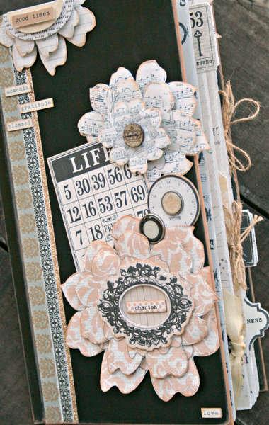 Cherish mini book *Teresa Collins Vintage Finds*
