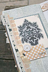 Cherish mini book *Teresa Collins Vintage Finds*