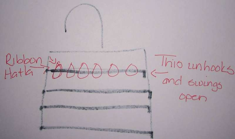 sad drawing of ribbon idea i saw