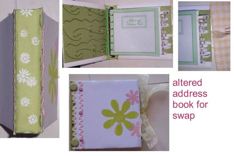 altered address book for swap