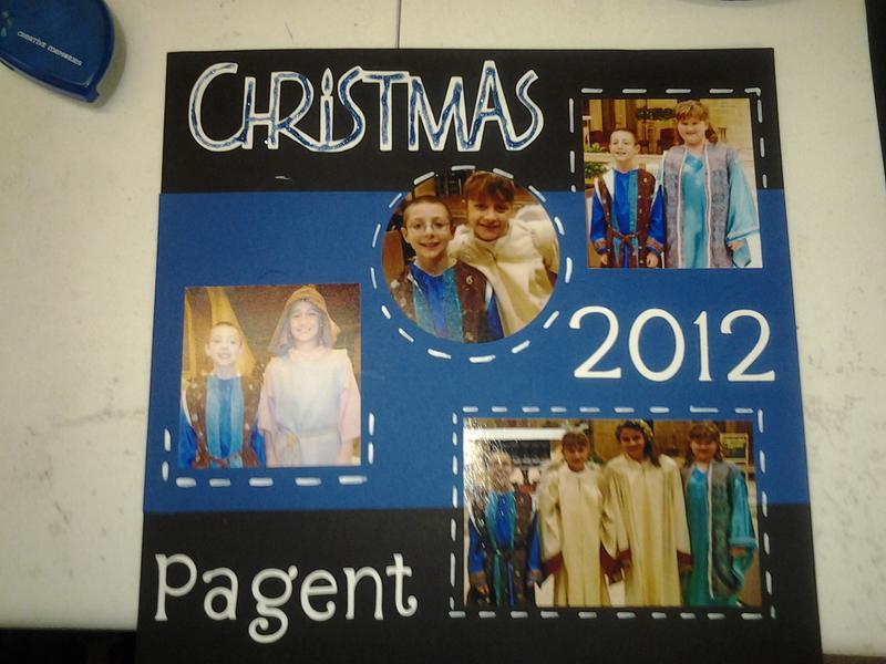 Christmas pagent ATS 2012