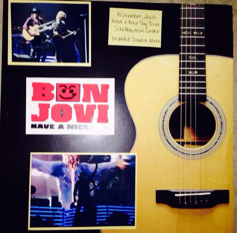 Bon Jovi have a nice day