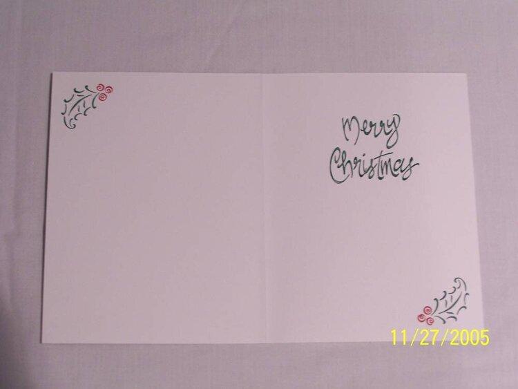 Christmas Card 2 (inside)