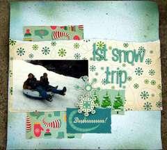 1st snow trip