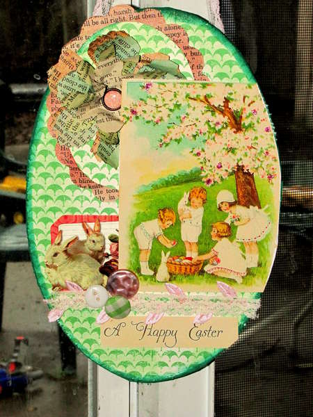 Easter wall Plaque for my sister