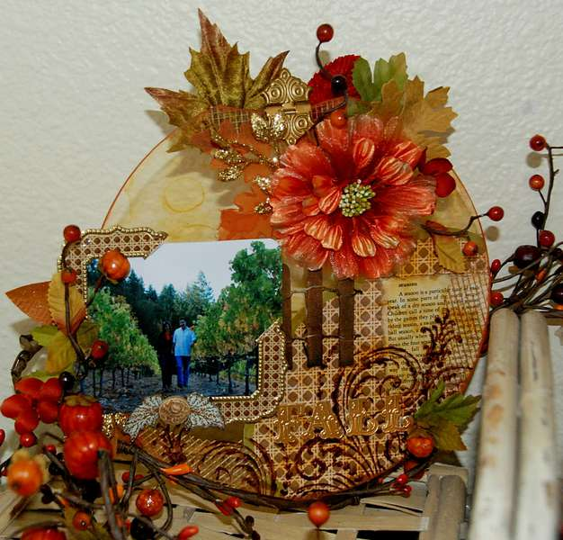 Fall Pumpkin - Clear Scraps