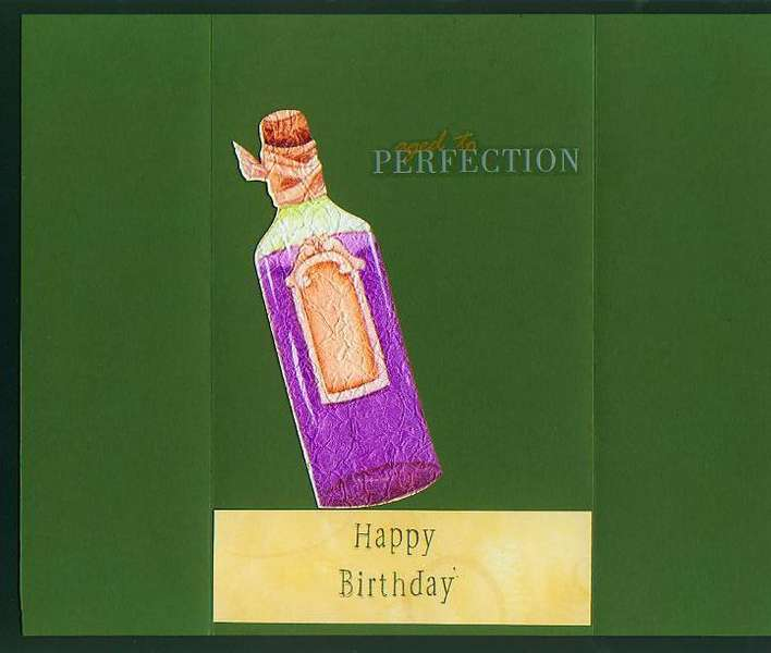 History of Wine B-day Card-inside