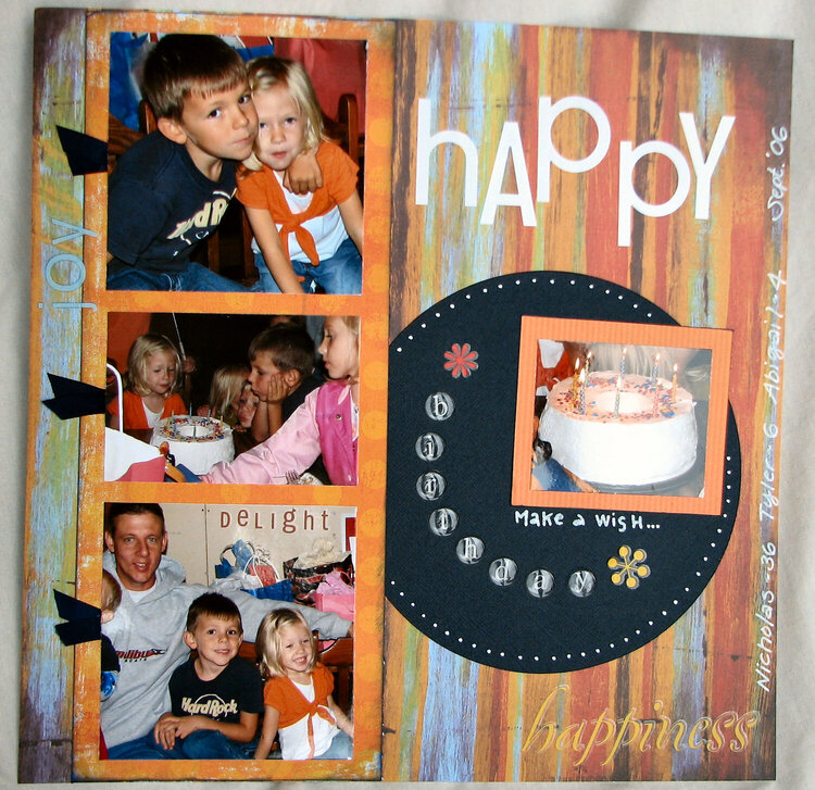 summer birthday page 1