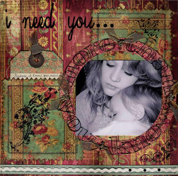 ~I need you~