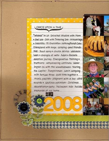 *Kraft Girls January Kit* our 2008 - page 1