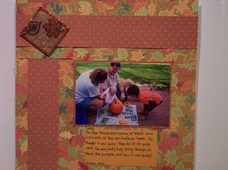 Pumpkins with Papa