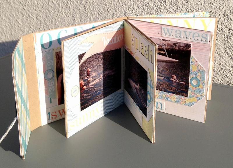 Accordion Fold mini album