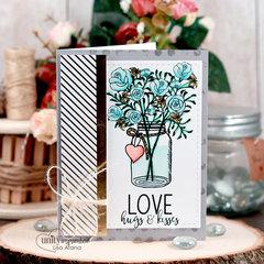Love Jar of Flowers