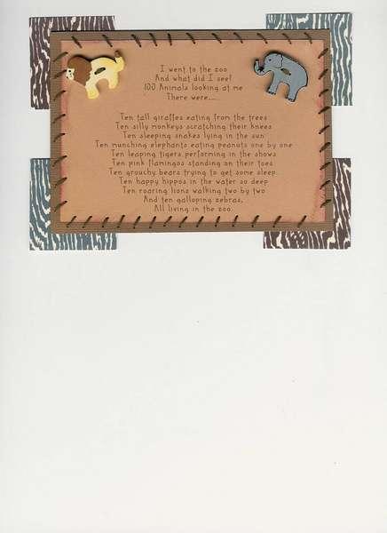 Poem Swap - Zoo