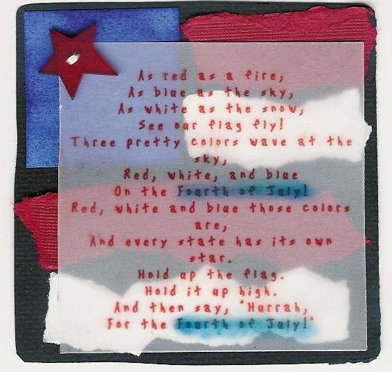 4th of July Poem for Poem Swap