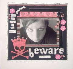 Beware 100% Teenager
