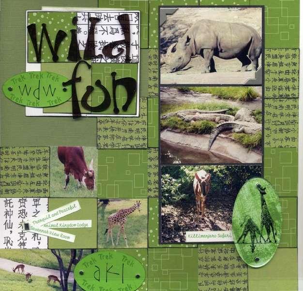 wild fun- animal kingdom, disney