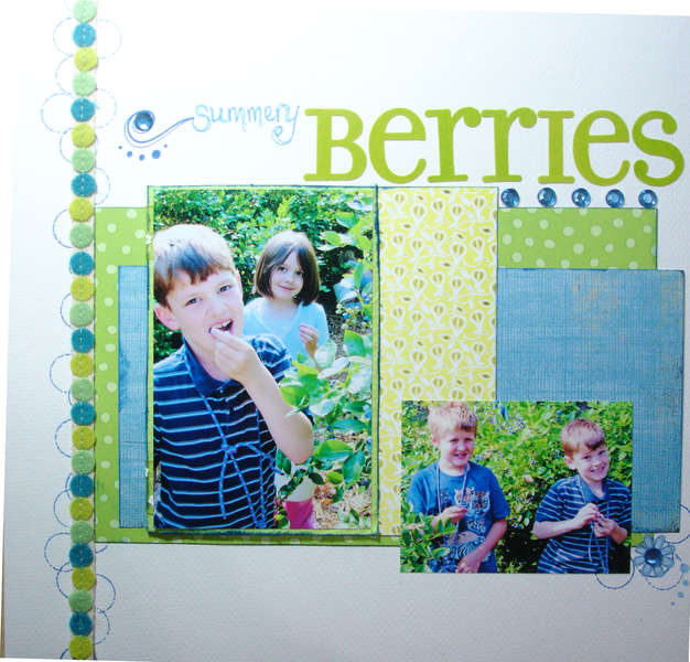 summery berries